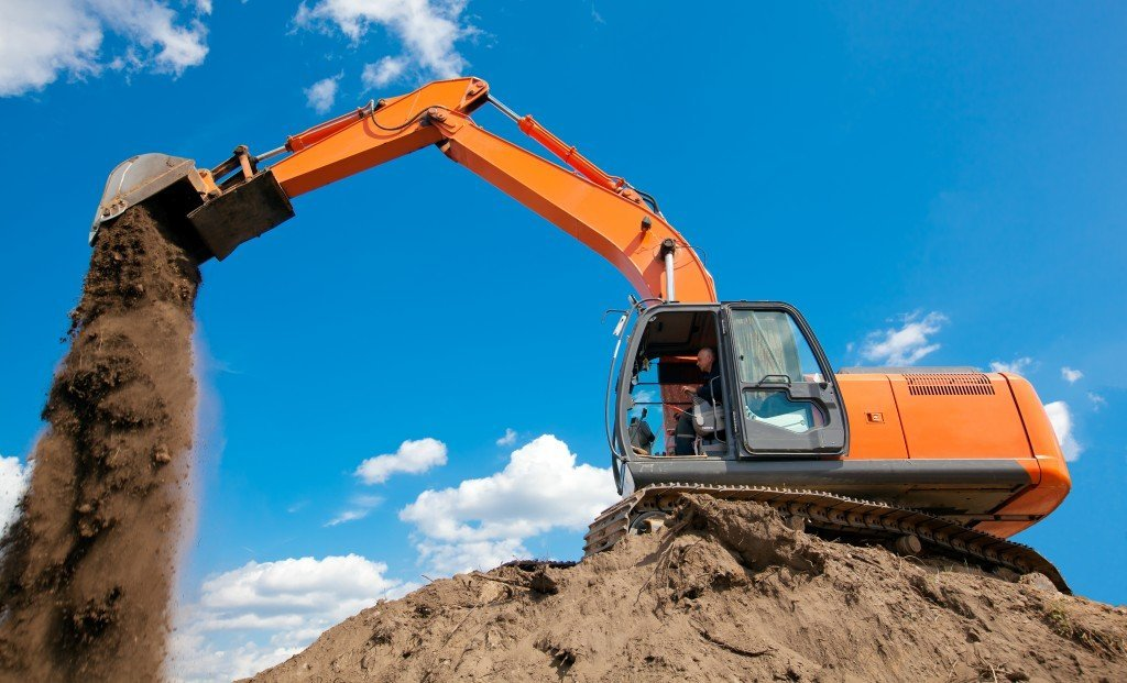 Image result for earthmoving and excavation